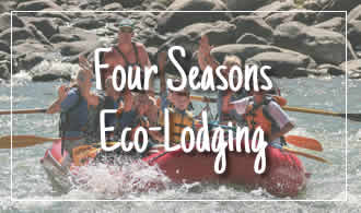 four seasons eco lodging at yellowstone national park